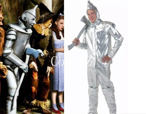 The Wizard of Oz Tin Man Classic Tin Man Cosplay Costume