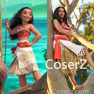 Moana Costume, Moana Dress
