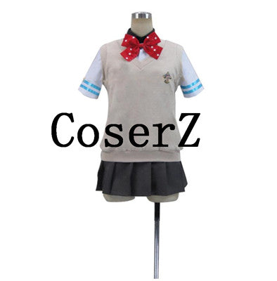 Free! Iwatobi Swim Club Gou Matsuoka Girl Summer High School Cosplay Costume