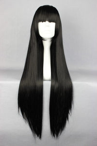 80cm Long Shakugan no Black Cosplay Costume Wig
