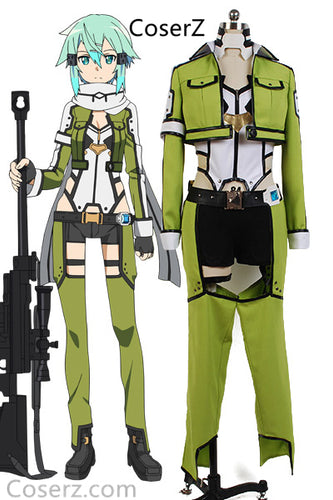 Custom-made Sword Art Online ALfheim Online Asada Shino Cosplay Costume