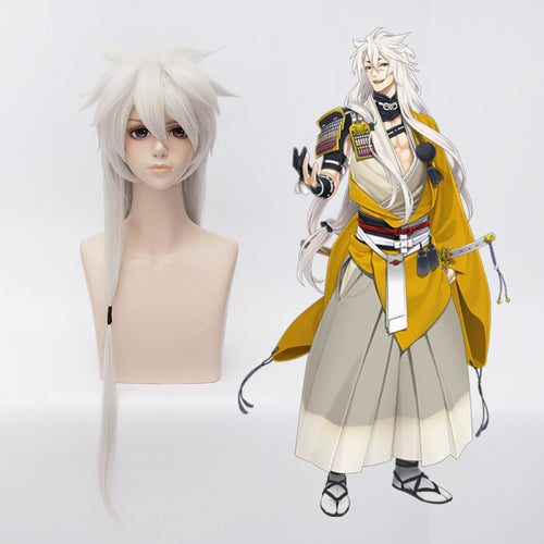40 inches Straight Touken Ranbu Online Cosplay Wig