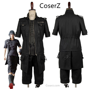 Custom-made Final Fantasy XV FF15 Noctis Lucis Caelum Cosplay Costume Outfit