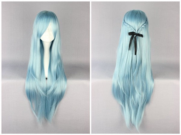 35 Inches Long Sword Art Online Asuna Yuuki Cosplay Wig