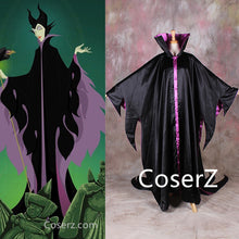 Maleficent Costume, Maleficent Black Outfit Cosplay Costume