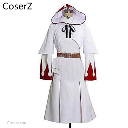 Custom-made Final Fantasy XIV 14 White Mage Cosplay costume