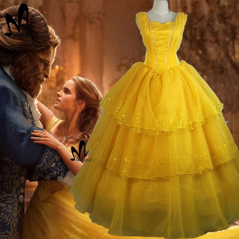 Beauty And The Beast 2017 Belle Dress Belle Dresses Belle Cosplay Co Coserz