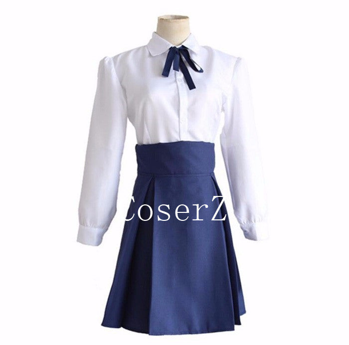 Anime Fate/Stay Night Saber Altria Pendragon Cosplay Costume