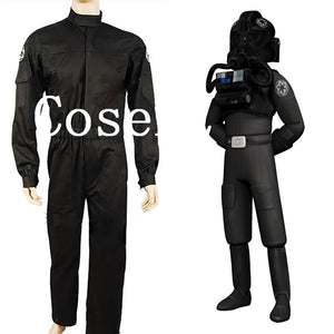 Star Wars Imperial Officer Costume Imperial Tie Fighter Pilot Cosplay Costume