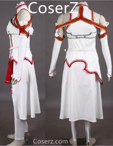 Custom-made Sword Art Online Asuna Yuuki Cosplay Costume