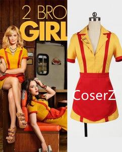 2 Broke Girls Max And Caroline Cosplay Costume