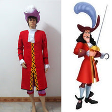 Peter Pan Captain Hook Cosplay Costume, Captain Hook Cosplay Outfit Adult Halloween Costume