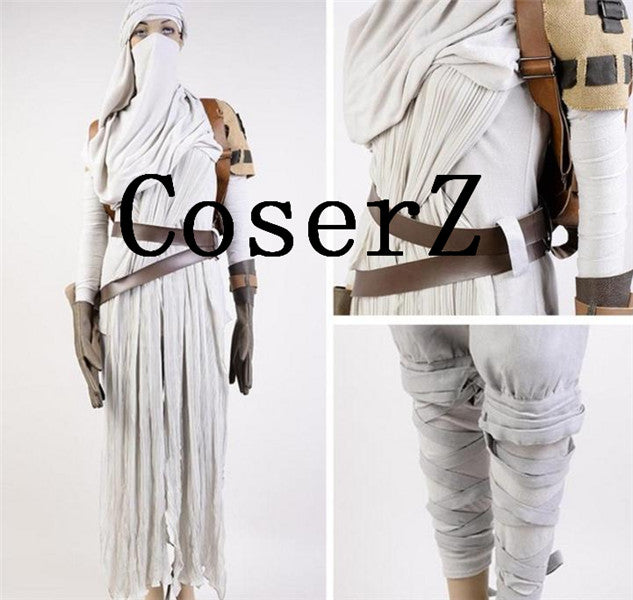 Star Wars Costume Star Wars VII: The Force Awakens Rey Cosplay Costume