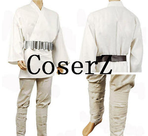 Star Wars Costume A New Hope Luke Skywalker Cosplay Costume
