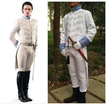 Cinderella 2015 Charming Costume, Charming Cosplay Costume White Color