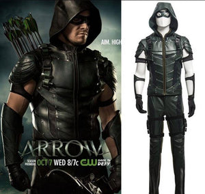 Green Arrow Season 4 Oliver Queen Cosplay Costume Deluxe Outfit