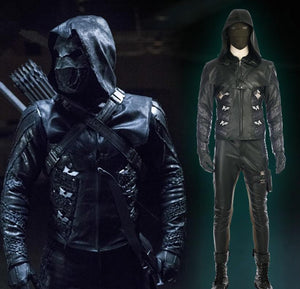 Green Arrow Season 5 Prometheus Costume Quentin Lance Cosplay Costume