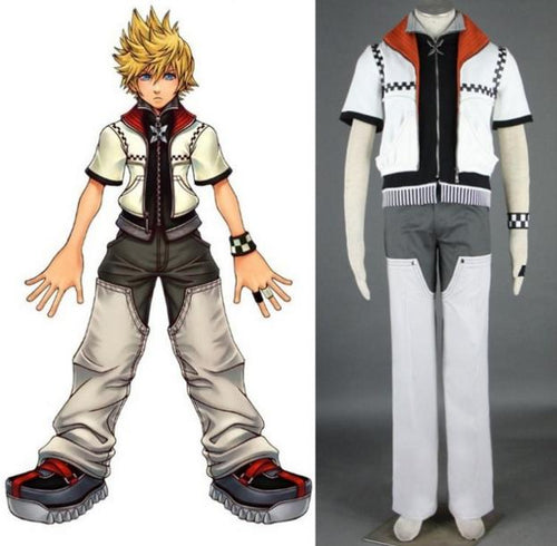 Kingdom Hearts Cosplay Sora Cosplay Costume Halloween