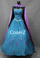 Custom-made Elsa Coronation Dress Embroidery Style