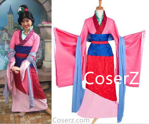 Hua Mulan Cosplay Costume