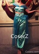 Jasmine Dress Cosplay Costume Custom Made