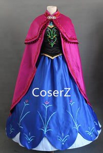 Custom-made Anna Embroidery Dress, Anna Embroidery Cosplay Costume