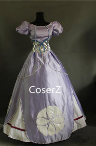 Sofia the First Dress Cosplay Costume
