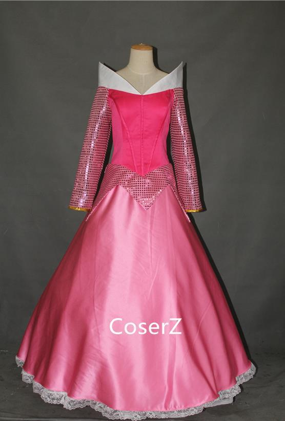 Princess Aurora Dress Cosplay Costume