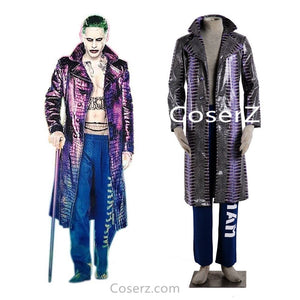 Suicide Squad The Joker Jack Joseph Cosplay Costume