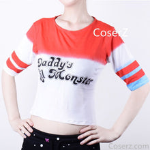 Suicide Squad Harley Quinn Cosplay T-shirt