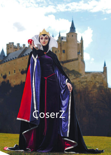 Custom-made Snow White Evil Queen Dress, Snow White Evil Queen Costume