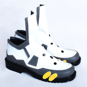 OW Tracer Cosplay Shoes Lena Oxton Fighting Cosplay Boots Custom Made