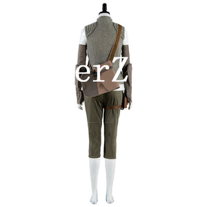 Star Wars 8 Rey Costume Carnival Cosplay Costume