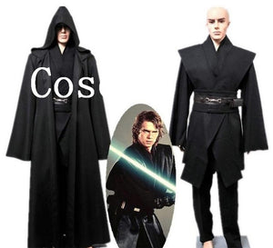 Star Wars Anakin Skywalker Robe Cloak Cosplay Costume