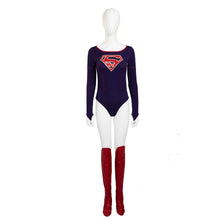 Supergirl Costume Women Full Set Supergirl Cosplay Costume with Boots Cover