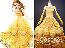 Custom-made Beauty and the Beast Belle Dress, Belle Costume Halloween Costume