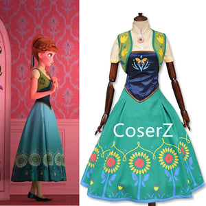Custom-made Fever Anna Dress, Anna Costume