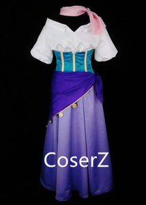 Esmeralda Costume Cosplay Custom Made