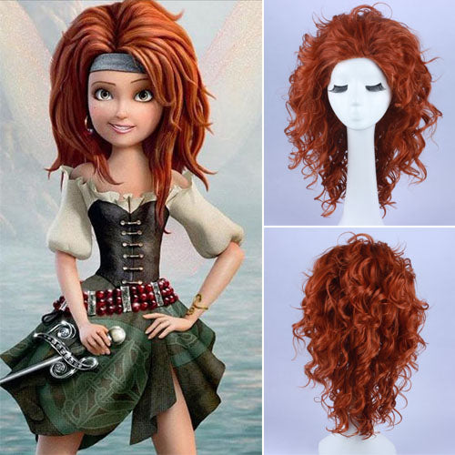 Pirate Fairy Princess Meet Zarina Wig Pirate Fairy Cosplay Wig Halloween wig