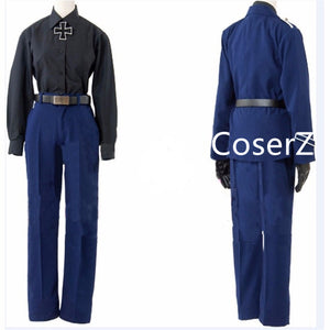 Anime APH Axis Powers Hetalia Prussia Cosplay Costume