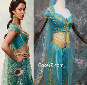 Clothing Shoes Accessories Women Adult Princess Jasmine Red