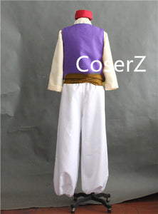 Custom Aladdin Lamp Cosplay Aladdin Costume Full Set