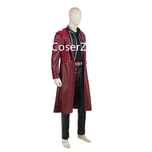 Fullmetal Alchemist Edward Elric Coat Cosplay Costume Leather Trench Coat Only