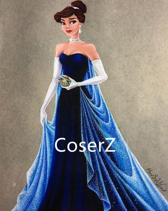 Anastasia Dress, Anastasia Costume Opera Gown – Coserz