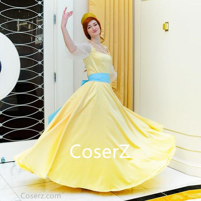 Anastasia Dress, Anastasia Cosplay Costume – Coserz