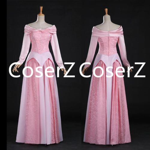 Princess Aurora Dress, Sleeping Beauty Aurora Cosplay Dress Pink