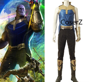 Avengers Infinity War Villain Thanos Cosplay Costume