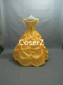 Beauty and Beast Simple Belle Dress Belle Costume for Adult / Girl