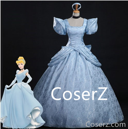 Custom Made Cinderella Costume, Cinderella Dresses