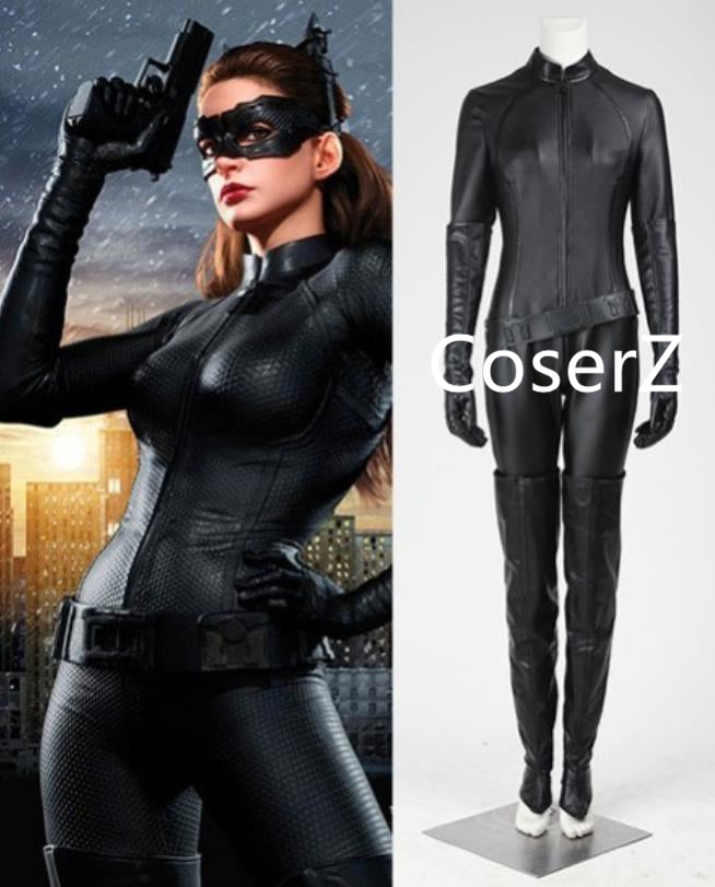 Catwoman Selina Kyle Cosplay Costume, Catwoman Costume